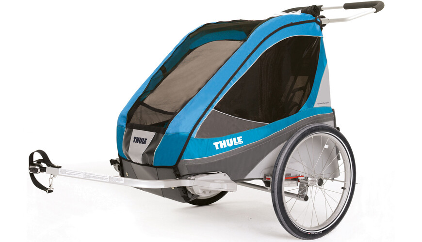 Thule Chariot Corsaire 2 + Cycle Kit Blue